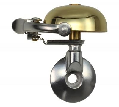 Crane Bell Mini Retro Suzu Fahrradklingel Gold/ahead