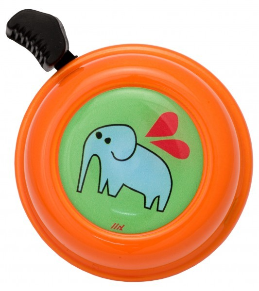 Liix Fahrradklingel Elefante Green Orange
