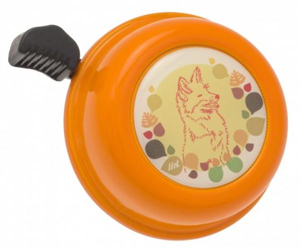 Liix Fahrradklingel Liix Fox Orange