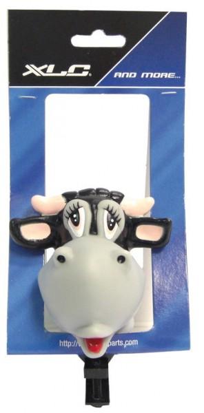 Fahrradlenkerhupe - Figurenhupe mit lustigem Kuh-Motiv