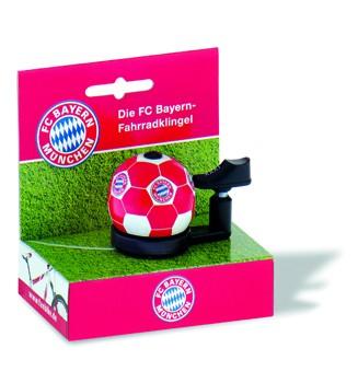 "Bundesliga-Fahrradklingel ""FC Bayern München"", rot/weiß"