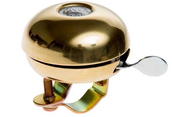 Crane Bell Co. Riten Bell Fahrradklingel Gold