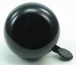 LTJ 2-Klang Ding Dong Glocke schwarz 60mm