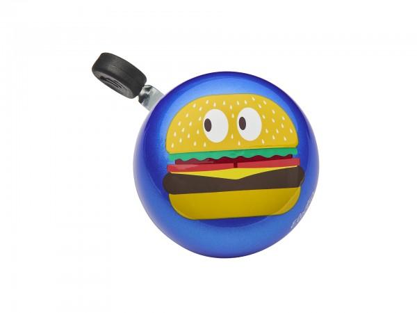 """Electra Fahrradklingel/Glocke Small Ding Dong """"Burger"""""""