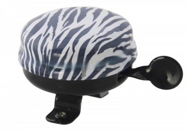 Liix Fahrradklingel Zebrafell, schwarz/weiß