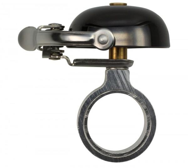 Crane Bell Co. Mini Suzu Bell, mit Headset Spacer, Black