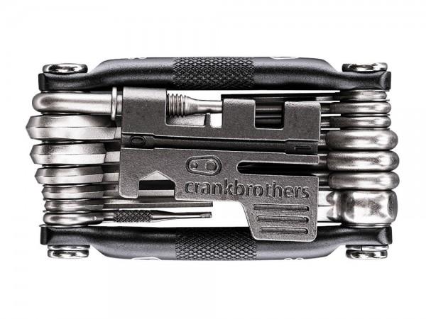 crankbrothers Fahrrad Multitool M20, Nickel