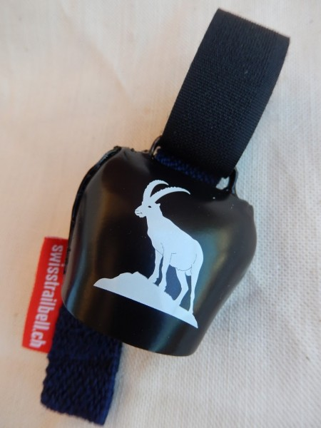 Swisstrailbell Collector Black Edition mit Steinbock