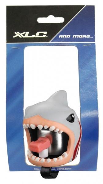 Fahrradklingel, Glocke Crazy Stuff White Shark