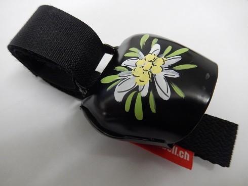 Swisstrailbell Collector Black mit Edelweiss