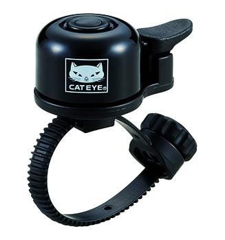 """CAT EYE Mini- Fahrradklingel / Glocke """"OH-1400"""", schwarz"""
