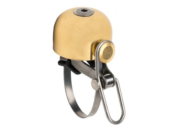 Retro Fahrradklingel Classic Bell - matt gold