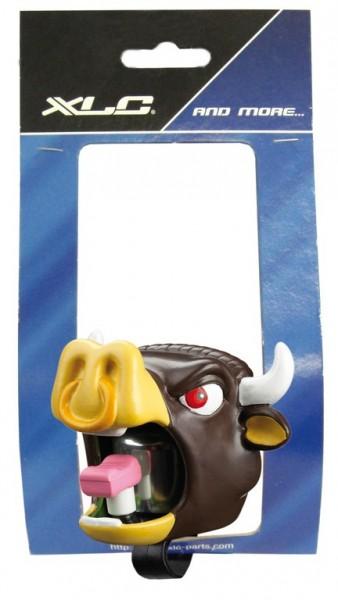 Fahrradklingel / Glocke Crazy Stuff Bull, dunkelbraun
