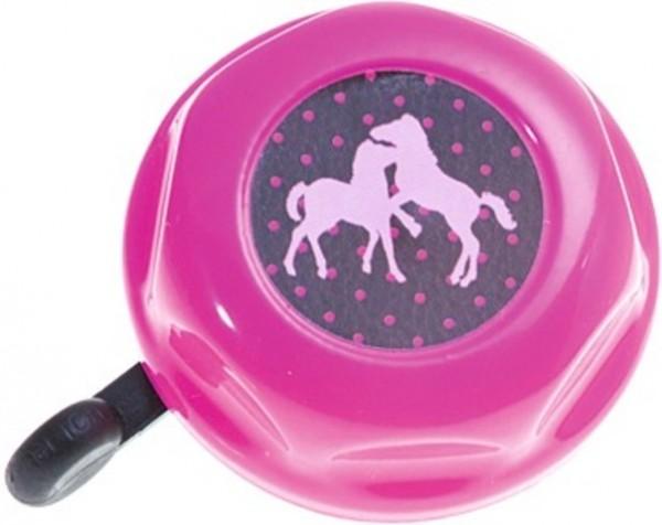 """BIKE FASHION """"Pferdefreunde"""", rosa mit Pferden"""