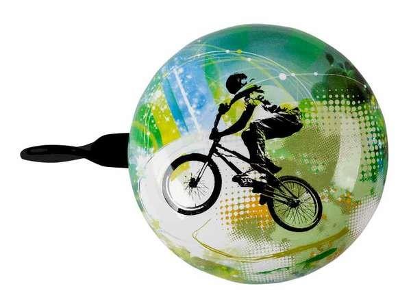 bbeBells Fahrrad-Klingel Fahrrad grün 60 mm