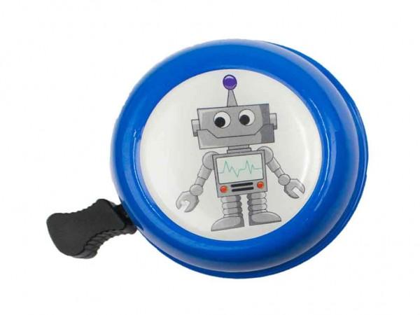 beBell Fahrradklingel Roboter blau