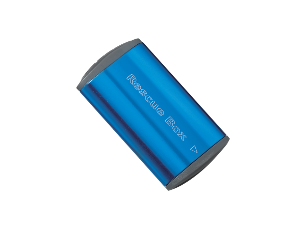 Topeak Rescue Box, Flickzeug-Box, dunkel-blau