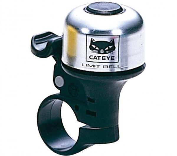 CATEYE Fahrradklingel / Glocke PB-800 Limit Bell, Silber