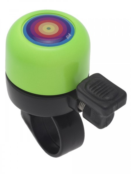 Liix Micro Bell Rainbow Ring Neon Grün Ping Fahrradklingel