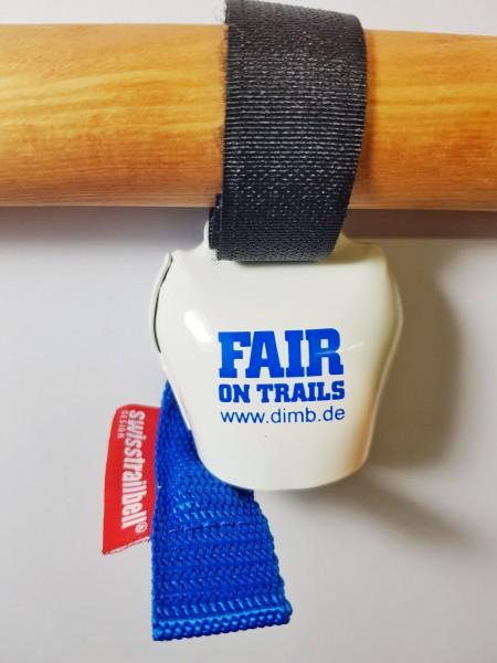 """swisstrailbell® DIMB-EV Edition """"Fair on Trails"""", blaues Band"""