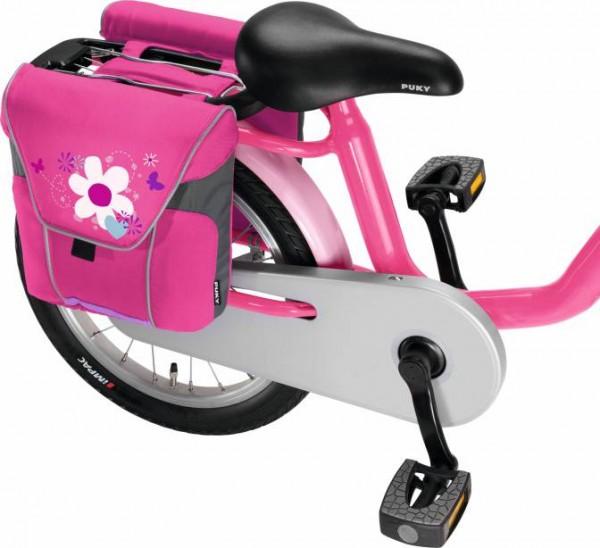PUKY Doppeltasche DT 3, Lovely Pink für Gepäckträger