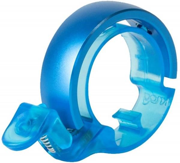 Knog OI Classic Large Fahrradklingel, 23.8 - 31.8 mm, neon blue