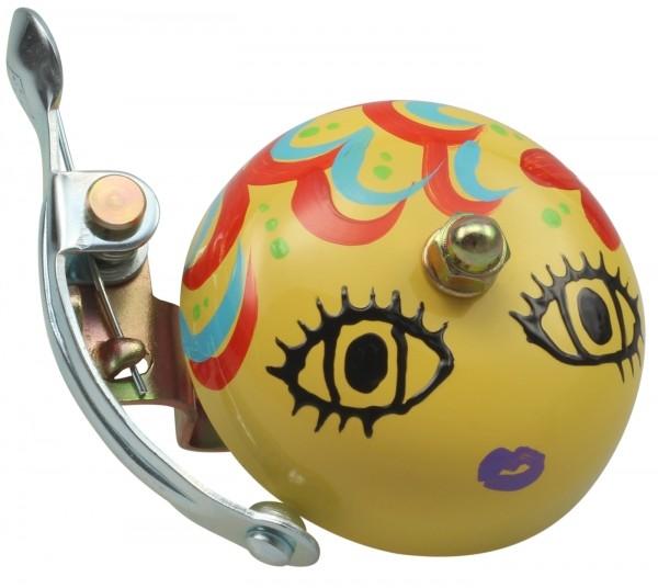 Crane Bell Co. Handpainted Suzu Fahrradklingel Mika-Chan Yellow