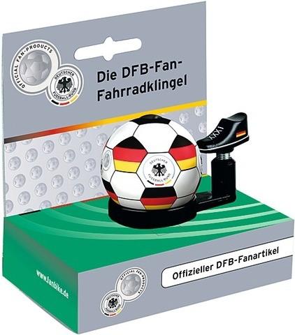 """DFB Fussballklingel """"Deutschland"""", schwarz/weiß"""