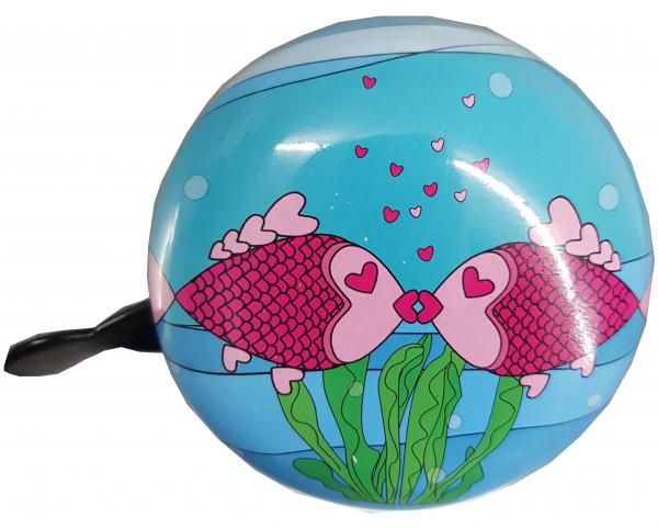 Ding Dong Glocke Kissing Fisch 80mm