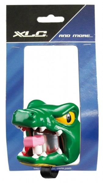 Fahrradklingel / Glocke Crazy Stuff Crocodil, grün