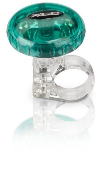 XLC Fahrradklingel / Glocke grün transparent