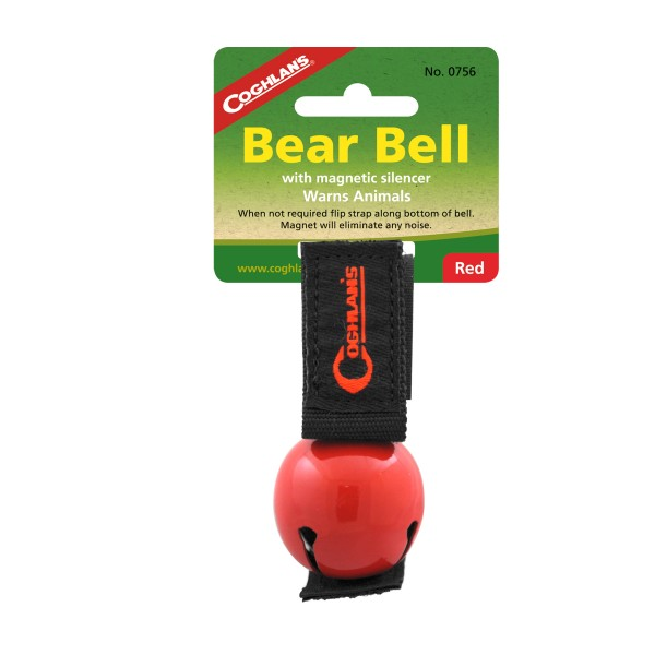 """Coglhans Bären Glocke / Klingel """"Bear Bell"""" rot"""