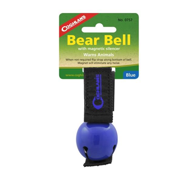 """Coglhans Bären Glocke / Klingel """"Bear Bell"""" blau"""