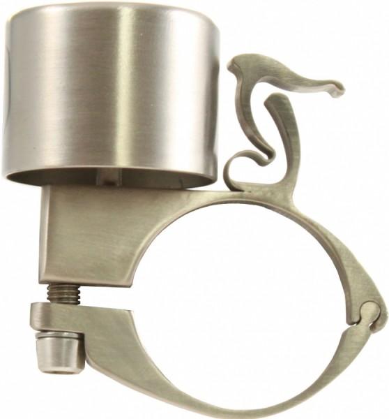 """Van Nicholas Fahrradklingel """"Titanium Bell"""", silber 31,8mm"""