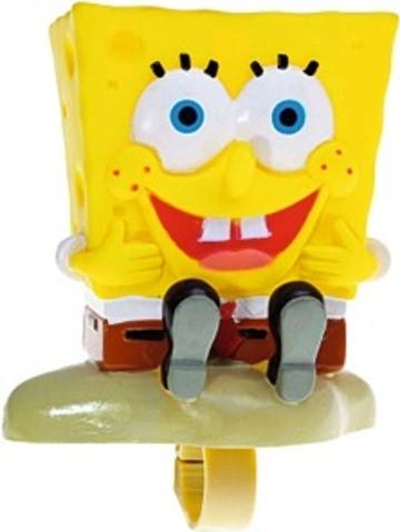 """BIKE FASHION Fahrradhupe, """"Sponge Bob"""", gelb"""
