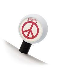 Electra Ventilkappen Peace Bubble Valve Caps