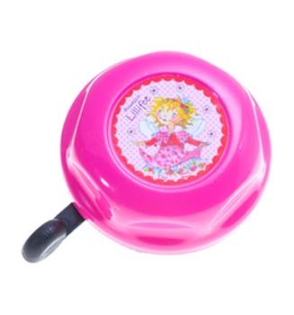 """Kinder Fahrradklingel / Glocke """"Prinzessin Lillifee"""", rosa"""