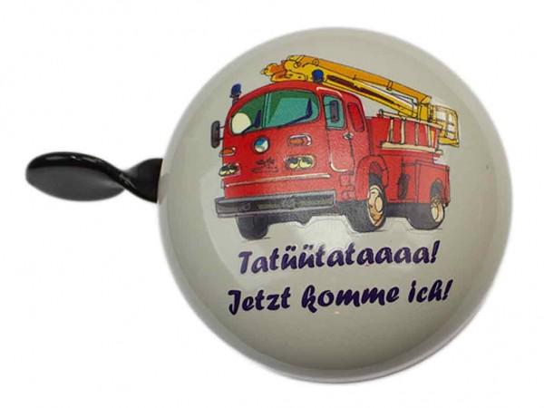 "Mini Ding Dong Fahrradklingel Feuerwehr ""Tatütata"""