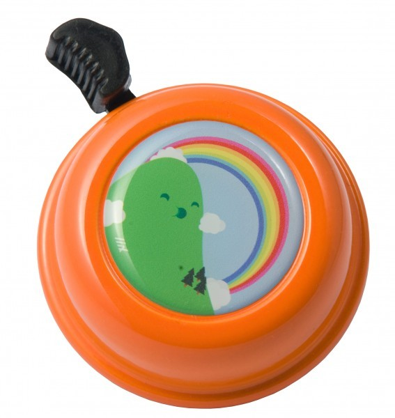 Liix Fahrradklingel Montanas Rainbow Orange