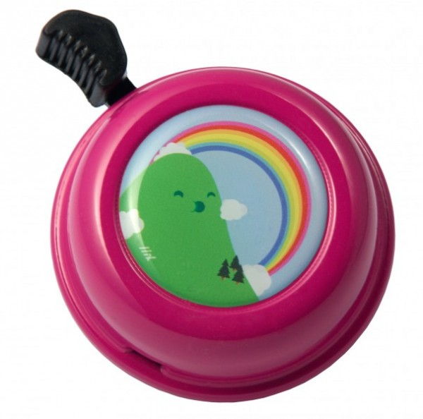 Liix Fahrradklingel Montanas Rainbow Magenta