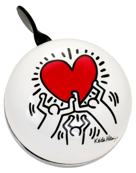 Liix Ding Dong Bell Keith Haring Heart