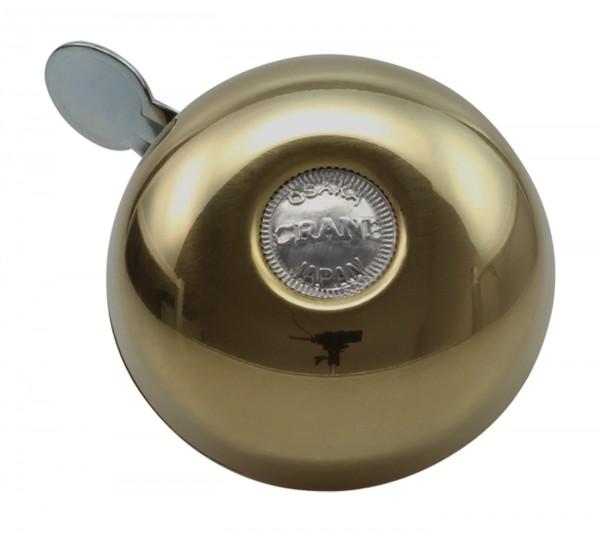 Crane Bell Co. Riten Fahrradklingel Gold