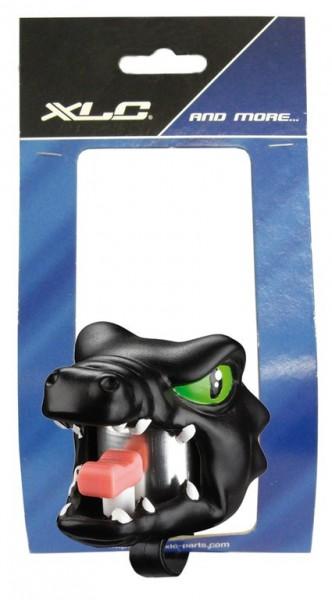 Fahrradklingel / Glocke Crazy Stuff Black Dragon, schwarz