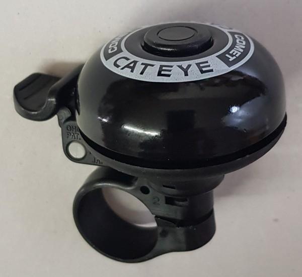 CATEYE Fahrradklingel / Glocke PB-200 Comet Bell, schwarz