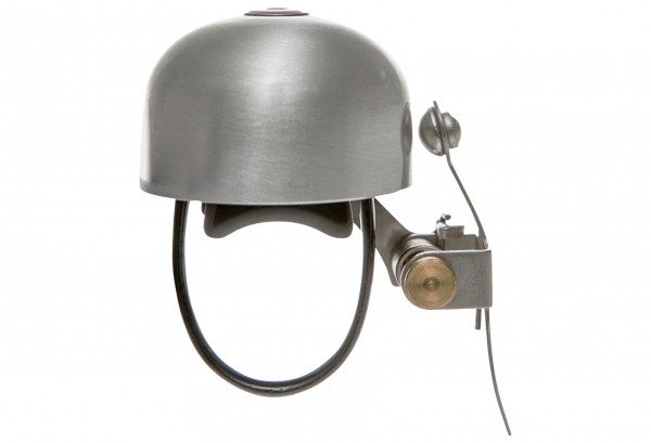 Crane Bell Co. E-NE Fahrradklingel Matte Silver