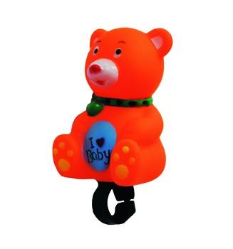 Figuren- Kinderhupe Bär, orange